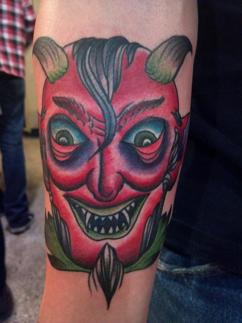 devil head tattoo | Flickr - Photo Sharing!