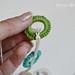 Crocheted Necklace Tutorial Step 4