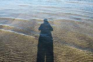 More Ripples Of Sand Underwater And My Shadow At Wasaga Beach | by Chrisser