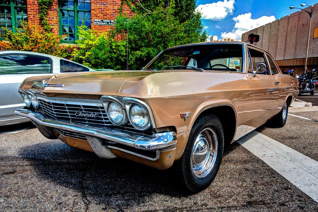 Chevy HDR Back To The Bricks Car Show Flint MI George - Thomas chevy car show
