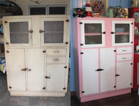 Merveilleux Vintage Kitchen Cabinet | By Strawbryb Vintage Kitchen Cabinet | By  Strawbryb