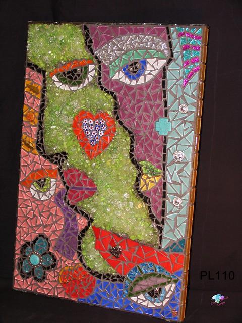 Abstract Face Mosaic Wall Art Decor | Flickr - Photo Sharing!