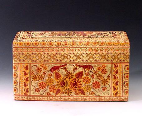 Francisco Coronel Gold leaf box