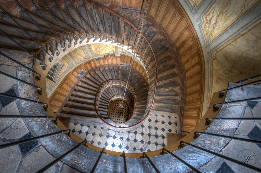 escalier de la galerie vivienne stairs from the vivienne. Black Bedroom Furniture Sets. Home Design Ideas