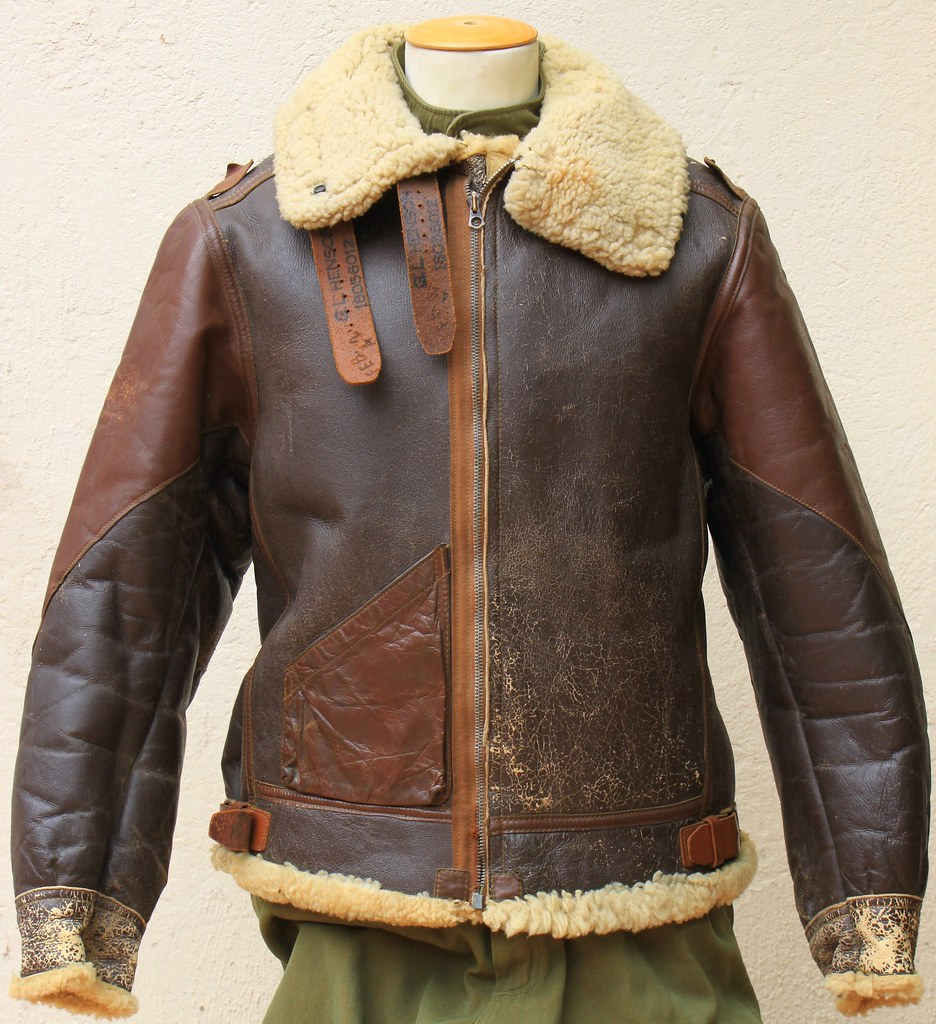"Type B-3 flight jacket ""2 tones"""