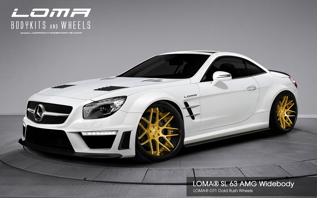 Mercedes Sl 63 Amg Widebody Kit By Loma 174 Motorsports Flickr