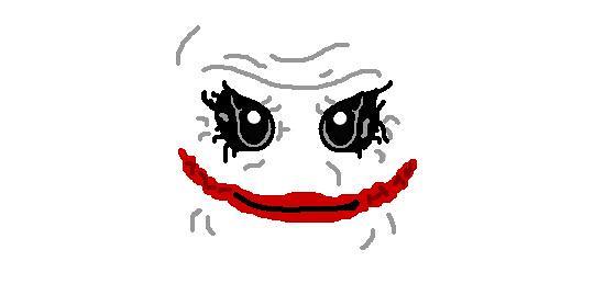 LEGO Joker Face Decal | Here is my LEGO Joker face decal ...