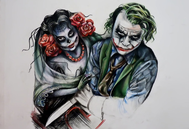 Joker and bella tattoo design flickr photo sharing for Home by johker design