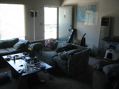 The Messy Living Room Amber Eric Davila Flickr