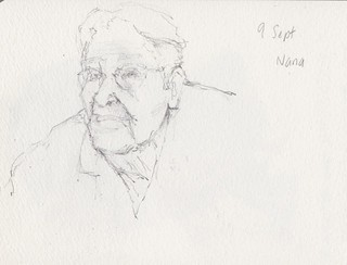 09Sept12 Pencil drawing of Nana | by alissa duke