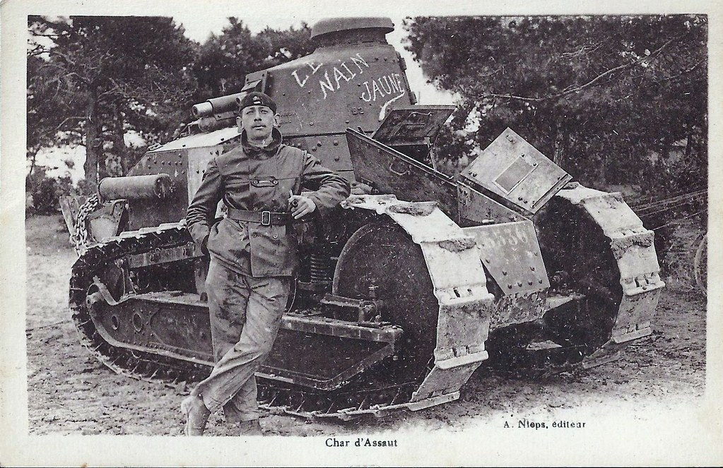 ww1 renault ft17 french tank   towner1705   Flickr