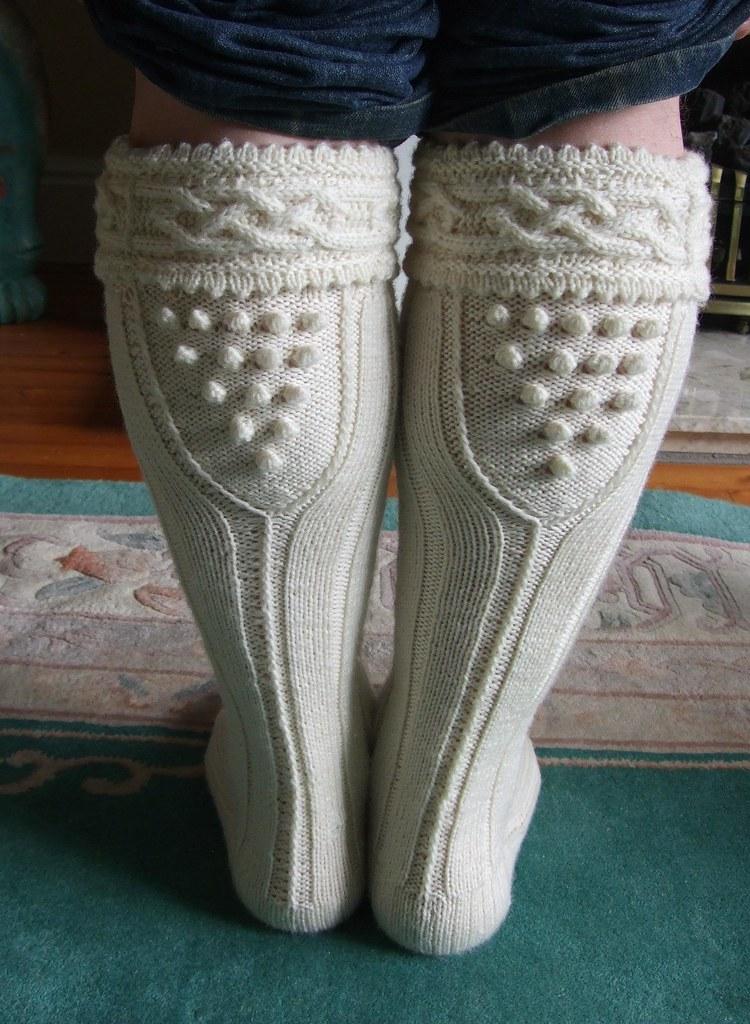 Knitting Pattern For Scottish Kilt Socks : #Aran #cornish #kilt #hose #socks back my #copyright photo? Flickr