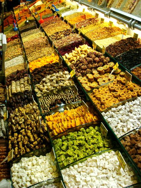 Reposter a turca bazar de las especias estambul for Bazar reposteria