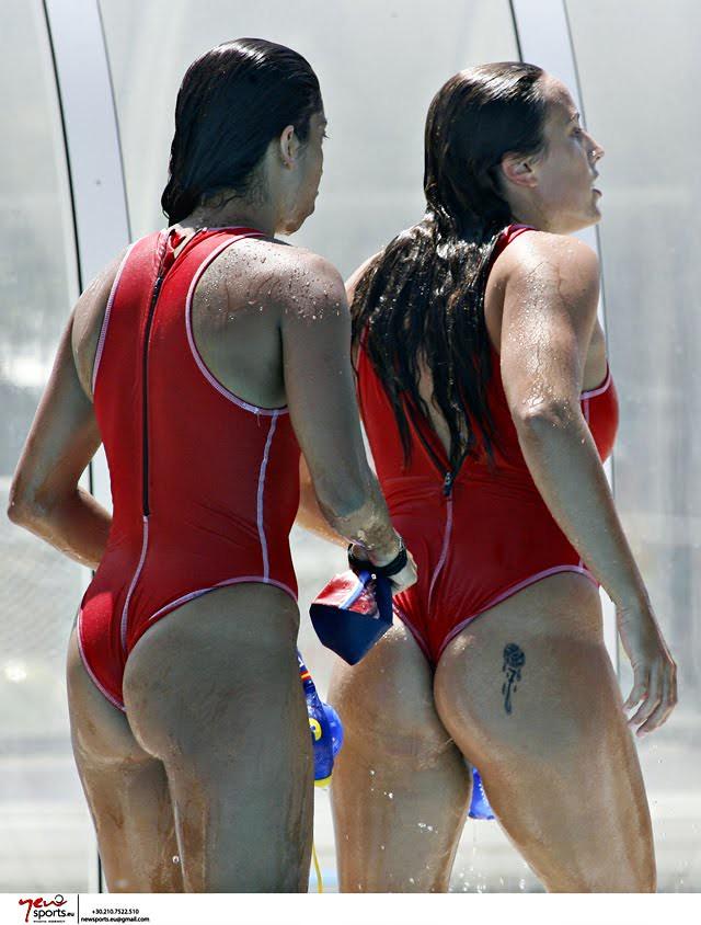 Water polo girls espana team - 3 3