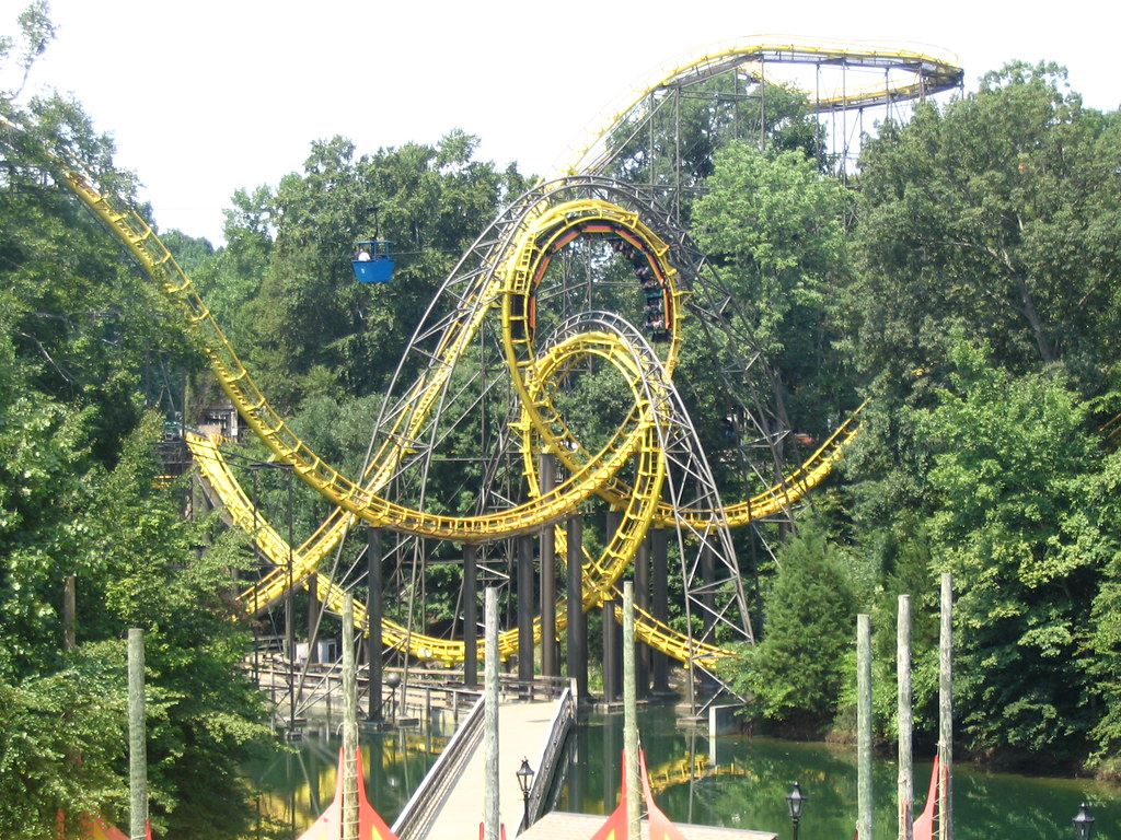Busch Gardens Williamsburg Virginia USA Le Loch Ness Mo Flickr
