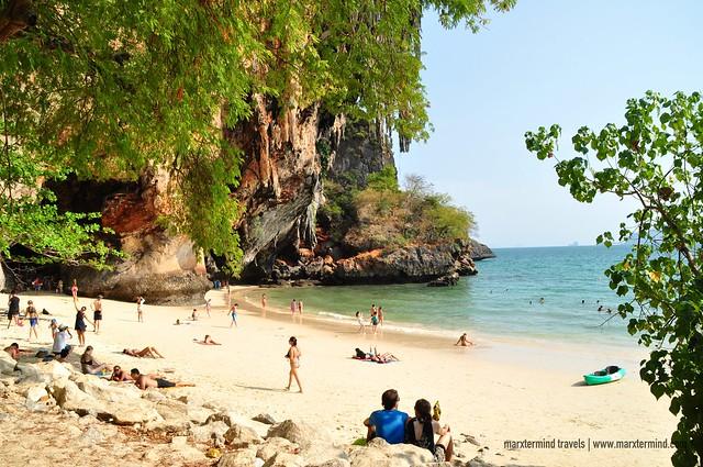 Phra Nang Cave Beach Krabi Phallus Cave