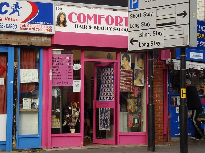 Comfort 39 s hair beauty salon croydon london cr0 flickr for R b salon coimbatore