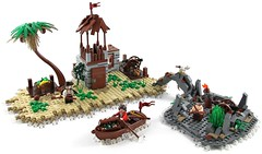 Pirates Lagoon by TheBrickAvenger