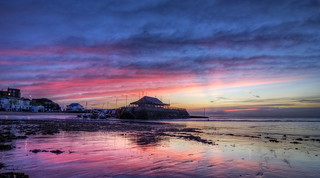 Broadstairs at sunrise [Explored] | by J.W.Turner