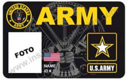 Us Army Custom Id Card Www Insigniaspoliciales Com Index
