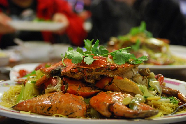 Mud Crab Noodles AUD23 per lbs - Tan Lac Vien | Flickr - Photo Sharing ...