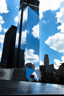 Rose at 9/11 Memorial | by Dan Nguyen @ New York City