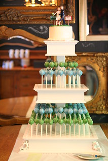 Blue and Green Cake Pop Display | by Sweet Lauren Cakes