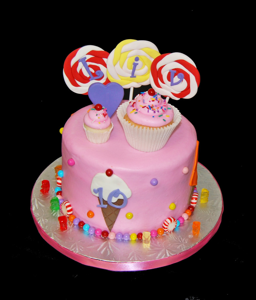 10th Birthday For A 10th Brithday Cake Katy Perry Californ Flickr