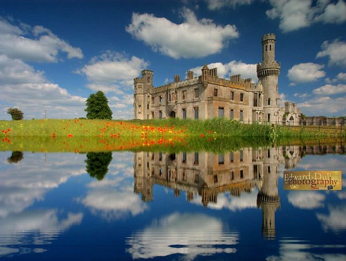 A fantasy vision of Duckett's grove castle. | by Edward Dullard Photography. Kilkenny, Ireland.