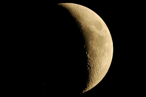 The Moon on 9/20/12 | by FlintstoneStargazer