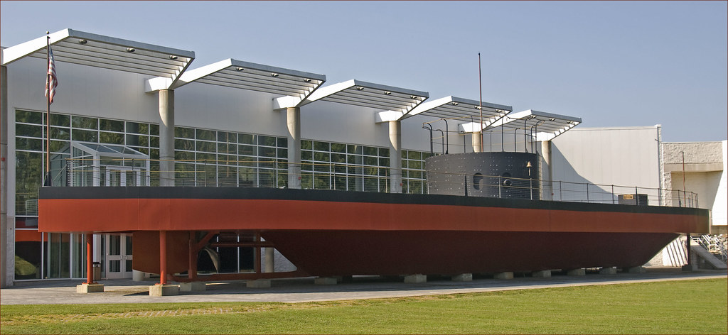 USS Monitor Replica -- The Mariners Museum Newport News (V ...
