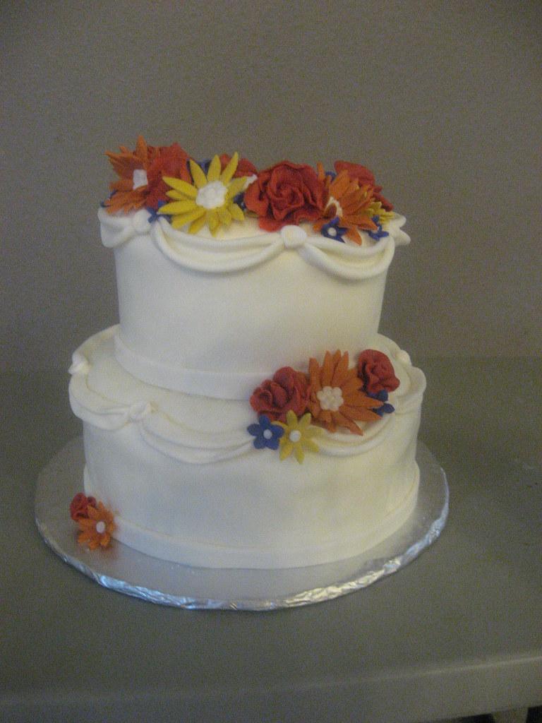 60th Wedding Anniversary Cake Gigiscakeboutique Flickr