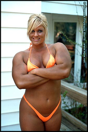 Naked female bodybuilder muscle lesbians in the gym 7