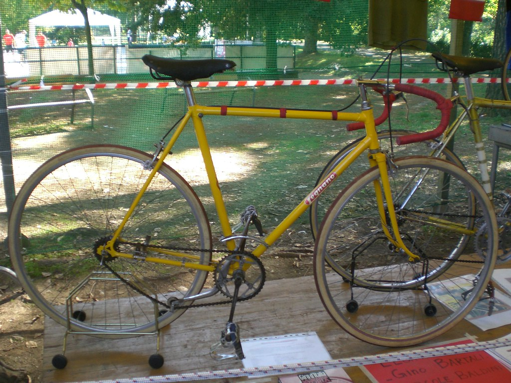 Legnano Road Bike With Vittoria Margherita Late 30s Flickr
