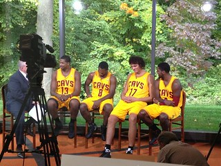 Cavs in New Gold Home Uniforms | by Cavs History