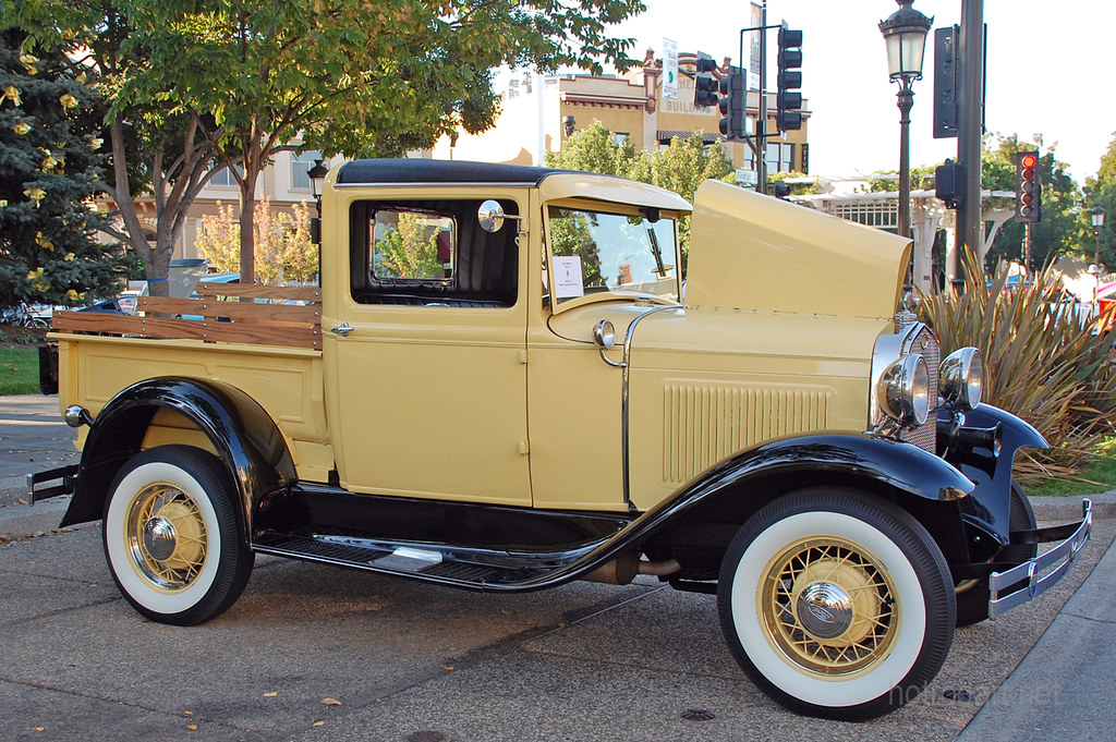 1930 Ford Model A Pickup Owner Jerry Martin Livermore