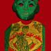Halloween Jolly Green Giant Mask 4150