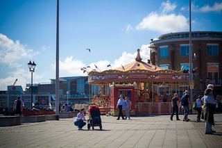 Carousel in Cardiff | by electron_wind