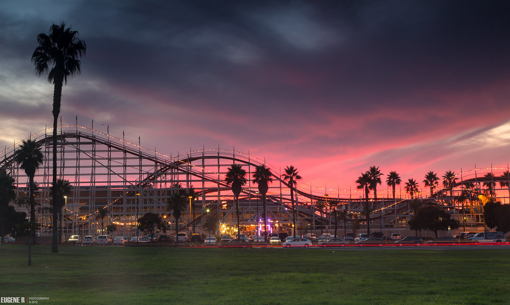 Belmont Park Roller Coaster My Plan Was To Photograph