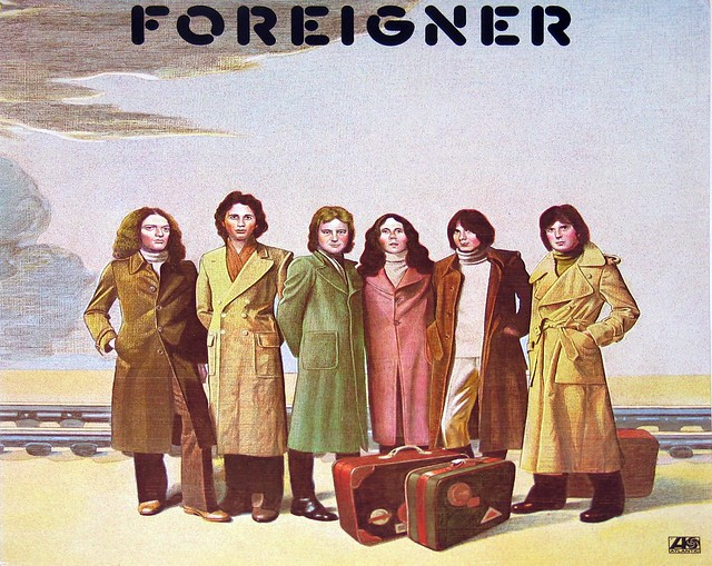 "Foreigner - Self-titled 12"" vinyl LP"