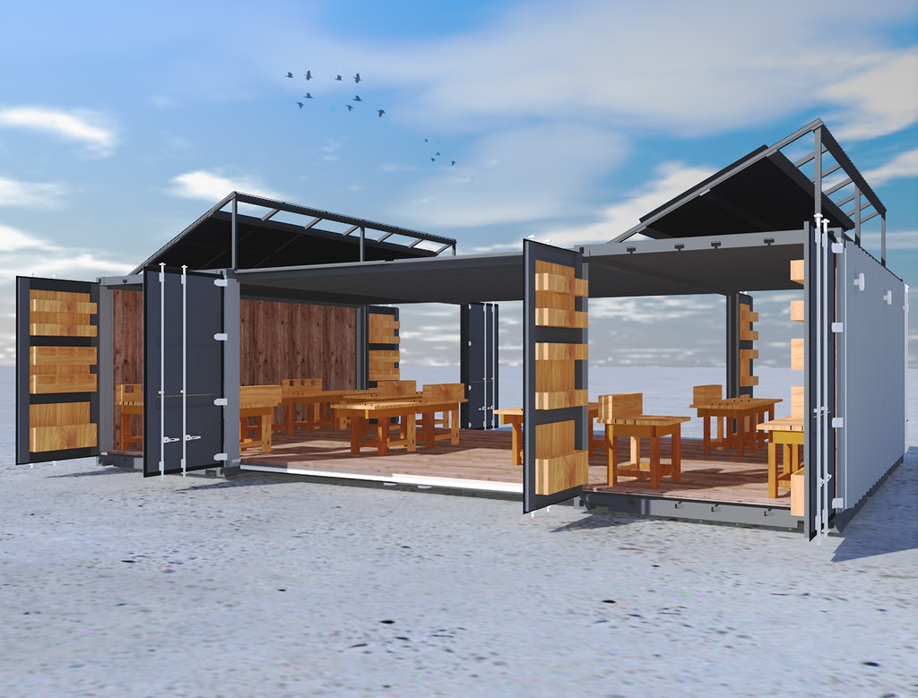 Container House On An Island