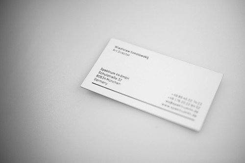 Businesscard  Spektrum 44 | by rus-star