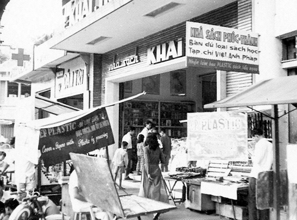 Image result for nhà sách khai trí trước 1975