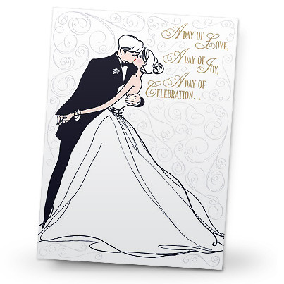 """Bride and Groom"""" Wedding Card 