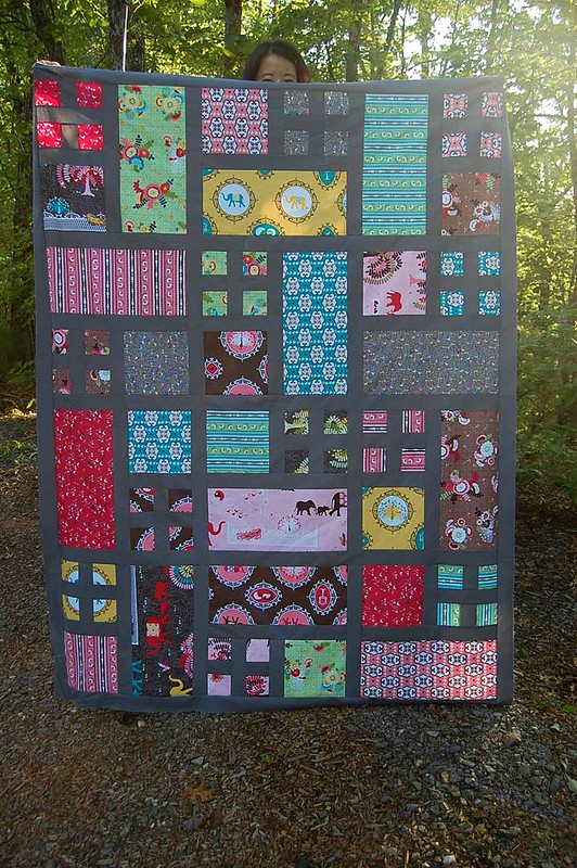 Taking Turns quilt top   Pattern by Happy Zombie In the Spri…   Flickr : taking turns quilt - Adamdwight.com
