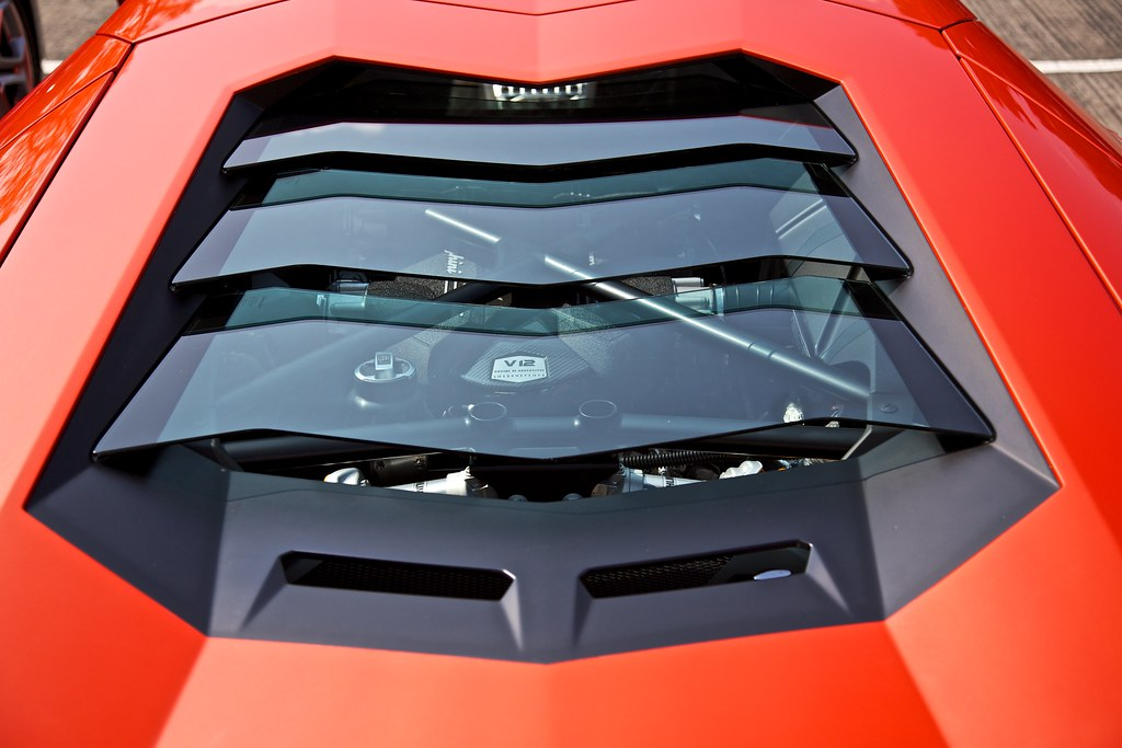 Lamborghini Aventador Engine Bay Keith Mulcahy Flickr