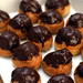 chocolate-covered cream puffs
