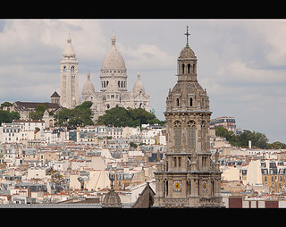 Montmartre: as Seen from a Rooftop | by DTBの写真撮影
