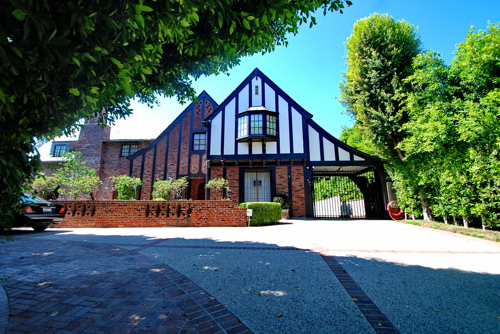 Rothman house paul r williams 1926 architect paul r for Architect images house
