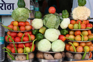 vegitable stall | by free stock pics